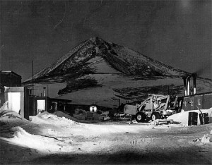 McMurdo Station winter of 1956